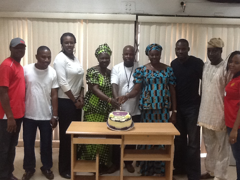 Mokola Branch celebrating with Customers 2