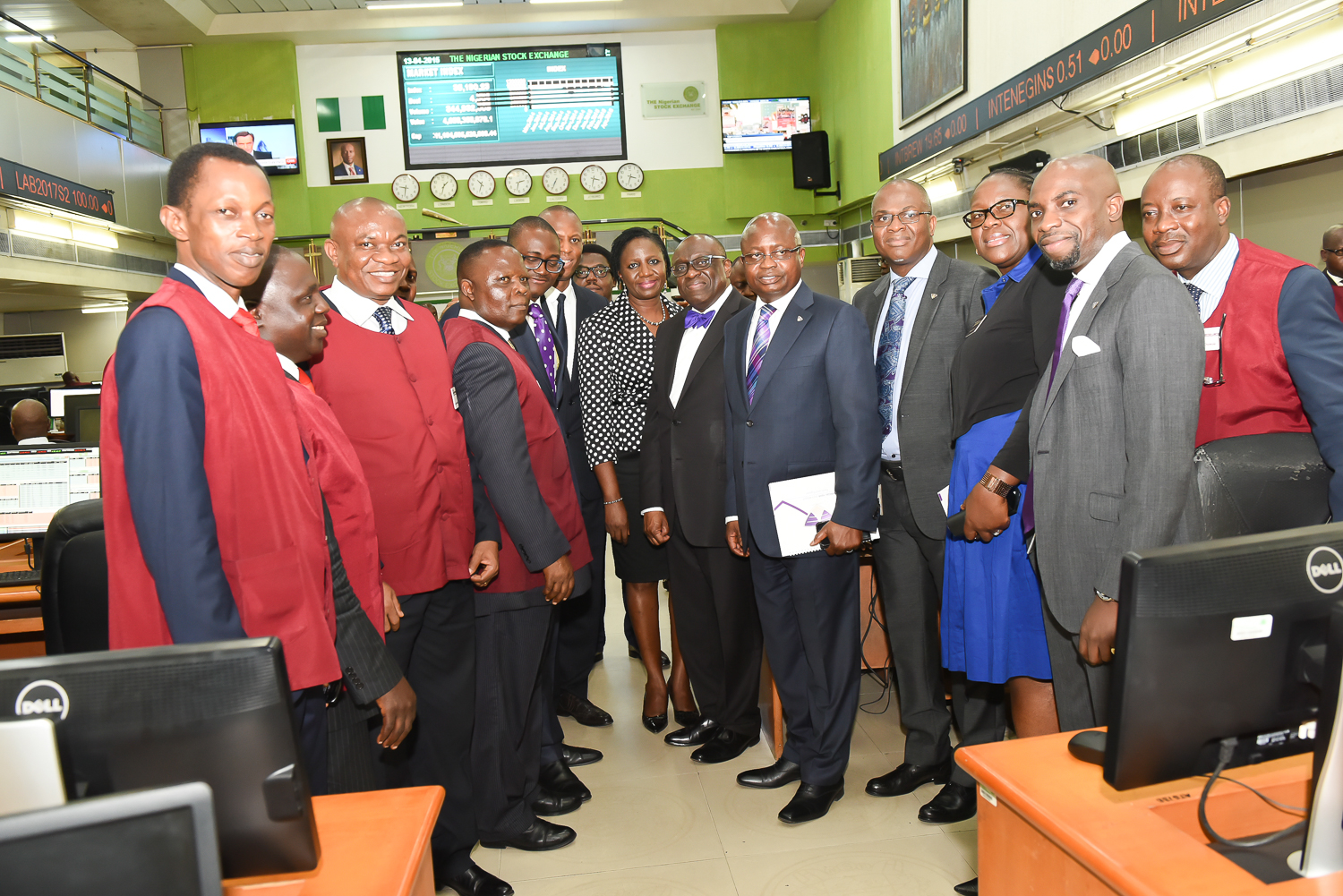 Fact behind the figures at the NSE 8
