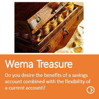 Wema Treasure Account