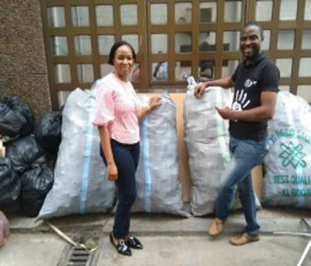 Recycling-Project-with-African-Clean-Up-Initiative-ACI